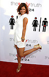 """HOLLYWOOD, CA. - July 16: Kate Walsh arrives at the Los Angeles premiere of """"The Ugly Truth"""" held at the Pacific's Cinerama Dome on July 16, 2009 in Hollywood, California."""
