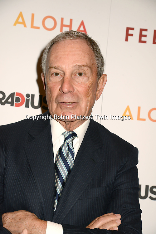 "Michael Bloomberg attends the New York Premiere of ""FED UP"" on May 6, 2014 at The Museum of Modern Art in New York City."