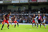 Blackburn Rovers' Craig Conway has a shot at goal <br /> <br /> Photographer Ashley Crowden/CameraSport<br /> <br /> The EFL Sky Bet League One - Bristol Rovers v Blackburn Rovers - Saturday 14th April 2018 - Memorial Stadium - Bristol<br /> <br /> World Copyright &copy; 2018 CameraSport. All rights reserved. 43 Linden Ave. Countesthorpe. Leicester. England. LE8 5PG - Tel: +44 (0) 116 277 4147 - admin@camerasport.com - www.camerasport.com