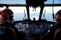 "The Italian aircraft carrier  ""G. Garibaldi"" ..Antisubmarine helicopters SH-3D ...Landing"