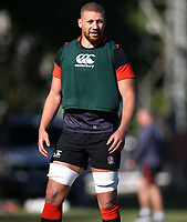Nick Isiekwe (Saracens) during the England Rugby training session at  Jonsson Kings Park Stadium,Durban.South Africa. 05,06,2018 Photo by Steve Haag)