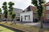 Nederland  Nieuwpoort 2017.  Stadsboerderij Vrede-Best van de familie Rozendaal aan de Binnenhaven.  Foto Berlinda van Dam / Hollandse Hoogte