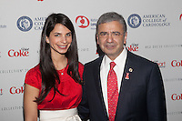 NEW YORK, NY - FEBRUARY 6: Dr. William A. Zoghbi and daughter  attend The Heart Truth Red Dress Collection 2013 Fashion Show on February 6, 2013 in New York City. © Diego Corredor/MediaPunch Inc. .... /NortePhoto