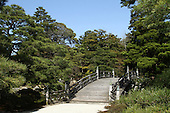 Apr. 08, 2010; Kyoto, Japan - Inside the gates on the grounds of the Imperial Palace in Kyoto