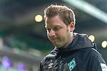 08.03.2019, Weser Stadion, Bremen, GER, 1.FBL, Werder Bremen vs FC Schalke 04, <br /> <br /> DFL REGULATIONS PROHIBIT ANY USE OF PHOTOGRAPHS AS IMAGE SEQUENCES AND/OR QUASI-VIDEO.<br /> <br />  im Bild<br /> <br /> Florian Kohfeldt (Trainer SV Werder Bremen)<br /> nachdenklich<br /> Gestik, Mimik,<br /> <br /> Foto &copy; nordphoto / Kokenge
