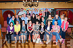 Julia O'Sullivan, Cullen seated centre who celebrated her 60th birthday with her family and friends in the Killarney avenue Hotel on Saturday night