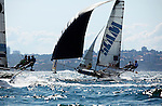 JJ Giltinan Trophy 2010 last race..In 1937. Mr. James J. Giltinan, Secretary of the Australian 18 Footers League, planned a world's championship for 18 foot open boats and the League presented a trophy (popularly known as the JJ Giltinan Trophy) to celebrate the event. .