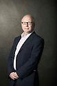 David Park, novelist  and writer  at The Edinburgh International Book Festival   . Credit Geraint Lewis