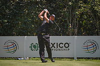Phil Mickelson (USA) watches his tee shot on 3 during round 4 of the World Golf Championships, Mexico, Club De Golf Chapultepec, Mexico City, Mexico. 3/4/2018.<br /> Picture: Golffile | Ken Murray<br /> <br /> <br /> All photo usage must carry mandatory copyright credit (© Golffile | Ken Murray)