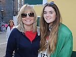 Rosemary and Lucy Mullen who took part in the Saint Vincent de Paul sponsored 5Km run. Photo: Colin Bell/pressphotos.ie