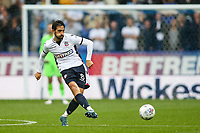 Bolton Wanderers' Jem Karacan <br /> <br /> Photographer Andrew Kearns/CameraSport<br /> <br /> The EFL Sky Bet Championship - Bolton Wanderers v Leeds United - Sunday 6th August 2017 - Macron Stadium - Bolton<br /> <br /> World Copyright &copy; 2017 CameraSport. All rights reserved. 43 Linden Ave. Countesthorpe. Leicester. England. LE8 5PG - Tel: +44 (0) 116 277 4147 - admin@camerasport.com - www.camerasport.com