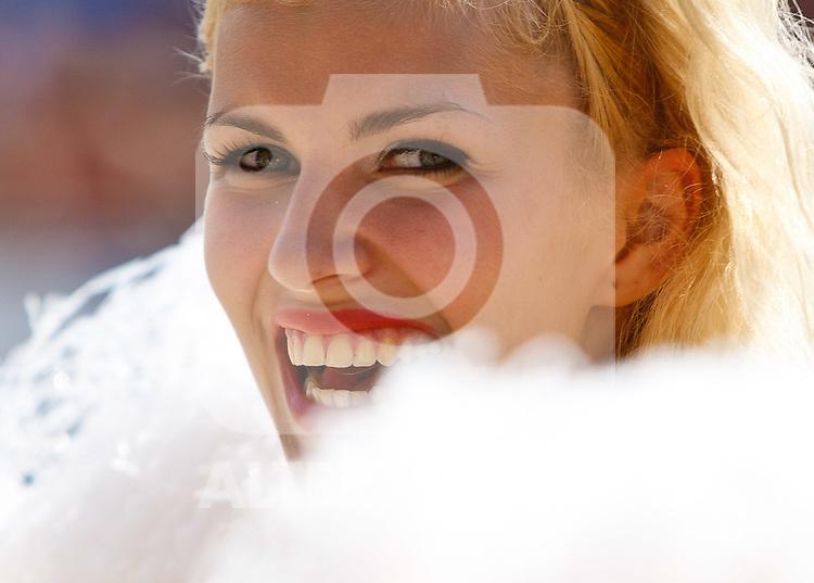 07.08.2011, Klagenfurt, Strandbad, AUT, Beachvolleyball World Tour Grand Slam 2011, im Bild ein Zipfer Girl, AUT. EXPA Pictures © 2011, PhotoCredit: EXPA/ Gert Steinthaler