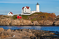 Nubble Light, Cape Neddick, York, Maine, USA