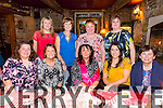 Hen party for Julie Summers who is getting married to  John Breen  on the 7th of March 2015,  celebrating with colleagues from The Bons at Finnegans Restaurant on Friday. pictured from Front left to right Maria McBride, Jackie Chiveas Julie Summers (Sinead Coclear), Marian Carroll. Back left to right. Jacitna O' Sullivan, Ann Shanahon, Berni Swan, Betty Ahern