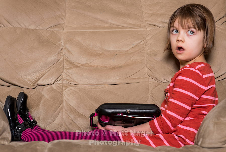 Charlotte Figi (cq, age 7) at her home in Colorado Springs, Colorado, Thursday, February 6, 2013. Charlotte suffered from over 100 seizure like symptoms and epilepsy before discovering a strain of marijuana that would stop her seizures. <br /> <br /> Photo by Matt Nager
