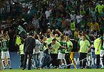 Atlético Nacional igualó como local 0-0 (global 1-1) ante Cerro Porteño. Semifinal de vuelta Copa Sudamericana 2016.