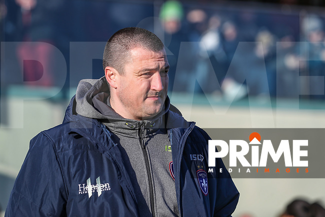 Chris Chester (Head Coach) of Wakefield Trinity during the Betfred Super League match between London Broncos and Wakefield Trinity at Castle Bar , West Ealing , England on 3 February 2019. Photo by David Horn.