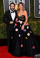LOS ANGELES, CA. January 06, 2019: Heidi Klum & Tom Kaulitz at the 2019 Golden Globe Awards at the Beverly Hilton Hotel.<br /> Picture: Paul Smith/Featureflash