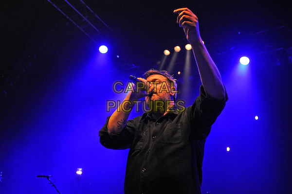 LONDON, ENGLAND - DECEMBER 2: Guy Garvey performing at Shepherd's Bush Empire on December 2, 2015 in London, England.<br /> CAP/MAR<br /> &copy; Martin Harris/Capital Pictures