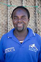 Jambiani, Zanzibar, Tanzania.  Haji Mande, leader of Cultural Tours on Zanzibar.
