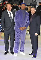 Bruce Willis, Samuel L Jackson, James McAvoy at the &quot;Glass&quot; UK film premiere, Curzon Mayfair, Curzon Street, London, England, UK, on Wednesday 09 January 2019.<br /> CAP/CAN<br /> &copy;CAN/Capital Pictures