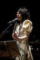 PJ Harvey performing at Hamer Hall, Melbourne, 20 February 2008