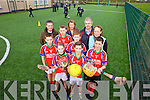 St.Teresa's national school, Kilflynn will officially launch their new artificial pitch on Sunday December 15th and past and present pupils are welcome to come along. Pictured were: Amy O'Sullivan, James Sheehan, Declan O'Donoghue, Ryan McElligott, Eoin Relihan, Tadhg McKenna, John O'Flaherty, Maria O'Connell (teacher), Mike Parker and Mary Carroll (principal).