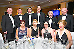 Kerry Radio Business awards night at Ballygarry House Hotel on Friday. Pictured Front l-r Eilish Dowling, Kathleen Sheehy, Suzann Ennis, Marcella Herlihy, Back l-r  Fintan Ryan Edward Dowling Michael Walsh Ogy Sheehy, Tom Lawlor, PJ Holmes,