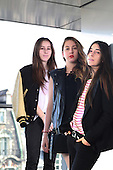 Sep 27, 2013: HAIM - Photosession in Paris France