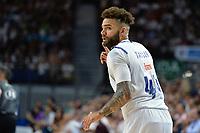 MADRID, ESPAÑA - 11 DE JUNIO DE 2017: Taylor celebra una jugada durante el partido entre Real Madrid y Valencia Basket, correspondiente al segundo encuentro de playoff de la final de la Liga Endesa, disputado en el WiZink Center de Madrid. (Foto: Mateo Villalba-Agencia LOF)