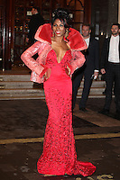 Sinitta  arriving for the I Can't Sing Press Night, at the Paladium, London. 26/03/2014 Picture by: Alexandra Glen / Featureflash