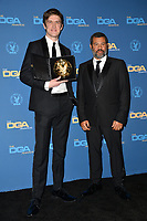 LOS ANGELES, CA. February 02, 2019: Bo Burnham & Jordan Peele at the 71st Annual Directors Guild of America Awards at the Ray Dolby Ballroom.<br /> Picture: Paul Smith/Featureflash