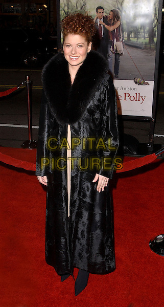 DEBRA MESSING.Universal Pictures World Premiere of Along Came Polly held at the Grauman's Chinese Theater .12 January 2004.full length, full-length, long coat, pregnant.www.capitalpictures.com.sales@capitalpictures.com.©Capital Pictures.