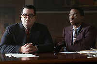 Marshall (2017) <br /> Josh Gad and Chadwick Boseman<br /> *Filmstill - Editorial Use Only*<br /> CAP/KFS<br /> Image supplied by Capital Pictures