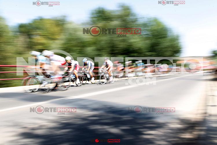 The group during the stage of La Vuelta 2012 between Logroño and Logroño.August 22,2012. (ALTERPHOTOS/Acero) /NortePhoto.com<br /> <br /> **SOLO*VENTA*EN*MEXICO**<br /> **CREDITO*OBLIGATORIO**<br /> *No*Venta*A*Terceros*<br /> *No*Sale*So*third*<br /> *** No Se Permite Hacer Archivo**<br /> *No*Sale*So*third*