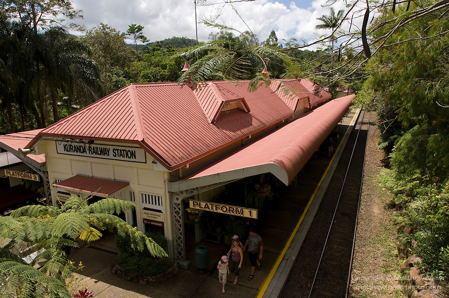Kuranda, Queensland, Australia; Kuranda Railway Station, Kuranda Scenic Railway , © Matthew Meier, matthewmeierphoto.com All Rights Reserved