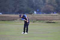 Paul Waring (ENG) on the 12th fairway during Round 1of the Sky Sports British Masters at Walton Heath Golf Club in Tadworth, Surrey, England on Thursday 11th Oct 2018.<br /> Picture:  Thos Caffrey | Golffile<br /> <br /> All photo usage must carry mandatory copyright credit (© Golffile | Thos Caffrey)