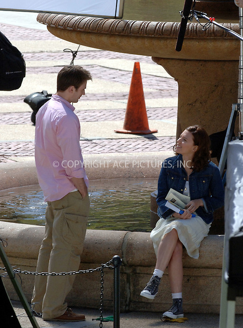 "WWW.ACEPIXS.COM . . . . .  ....April 27 2006, New York City....Scarlett Johannson and Chris Evans were on the set of their new movie ""The Nanny Diaries"" on Columbia University Campus on the Upper West Side of Manhattan.....Please byline: BRETT KAFFEE-ACEPIXS.COM.... *** ***..Ace Pictures, Inc:  ..(212) 243-8787 or (646) 769 0430..e-mail: picturedesk@acepixs.com..web: http://www.acepixs.com"