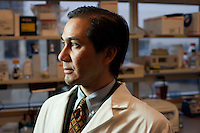 Dr. Dan Barouch is Professor of Medicine and physician at Beth Israel Deaconess Medical Center and Harvard Medical School in Boston, Massachusetts, USA. He is director of the Barouch Lab at the Center for Virology and Vaccine Research at Beth Israel Deaconess Medical Center and has recently published research on the evaluation of novel antibody therapy for HIV infection.<br /> <br /> CREDIT: M. Scott Brauer for the Wall Street Journal<br /> AIDS