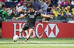 Beaudein Waaka. Hong Kong Sevens, 28 March 2015. NZ drew with Portugal 24-24. Photo: Marc Weakley