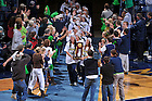 Dec. 5, 2010; The Women's Soccer team enters the Purcell Pavilion after winning the 2010 National Championship...Photo by Matt Cashore/University of Notre Dame