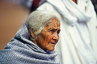 Alte indianische Frau in Pátzcuaro, Mexiko, Nordamerika