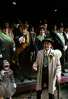 Defile de la Saint-Patrick<br /> , le 18 mars 1979<br /> <br /> PHOTO : Agence Quebec Presse