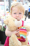 Ruby Pentony celebrating her 2nd birthday at the Food Festival on West Street...Picture Jenny Matthews/Newsfile.ie
