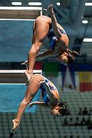 LIRA Luana, TAKAGI Tammy BRA<br /> Diving <br /> Women's 3m Synchro Springboard Preliminary<br /> Day 04 17/07/2017 <br /> XVII FINA World Championships Aquatics<br /> Duna Arena Budapest Hungary July 15th - 30th 2017 <br /> Photo @A.Masini/Deepbluemedia/Insidefoto