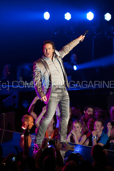 "Dutch singer Marco Borsato with his ""3Dimensies"" concert in the Sportpaleis, Antwerp (Belgium, 17/05/2011)"