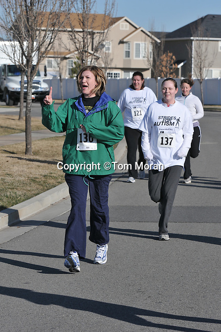 Strides for Autism 5K   Lehi, Utah  March 27, 2010