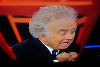 """10/01/2013    Santoro a """"Servizio Pubblico""""  incontra Berlusconi"""