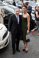 News Pictures---.07-03-2012, PARIS.Giorgio Armani Prive Show during the fashion week-.Jean Todt and Michelle Yeoh  .. / Mediapunchinc