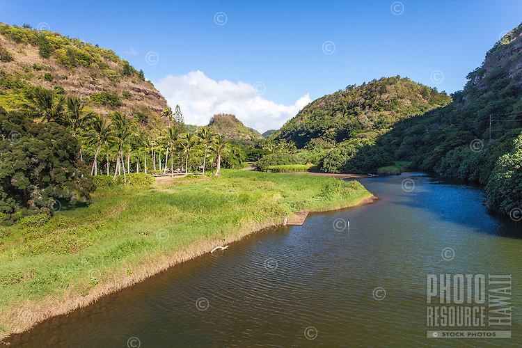 Waimea Valley River, North Shore, O'ahu.